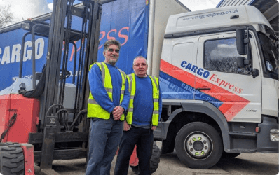 Congratulations to Abid & Paul on becoming our newly qualified Truck Mounted Forklift Drivers Thumbnail
